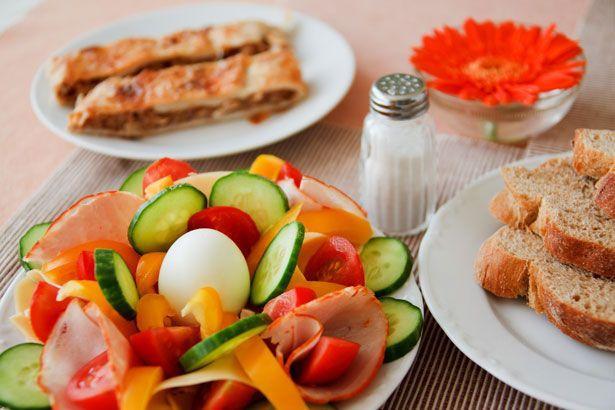 Menu tipo Dieta Zona