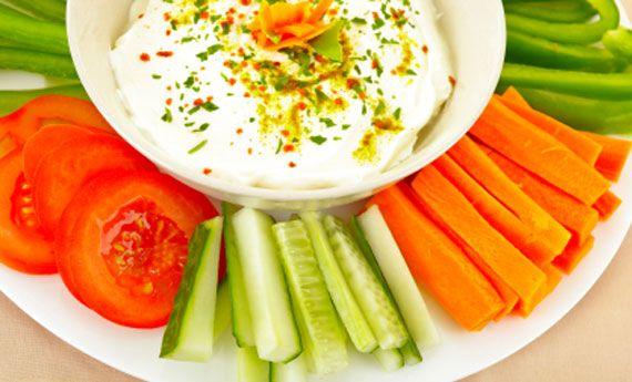 Dieta equilibrata con frutta e verdure